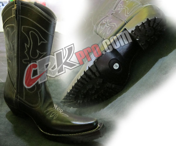 Sepatu Boots Pria Handmade Koboy Cibaduyut Bandung Harga Murah
