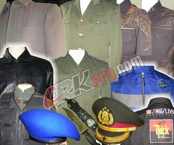 Seragam Psl Baju Dinas Pakaian Sipil Lengkap Jas Resmi Uniforms Militer Polisi Tentara Polri Pns Pemda