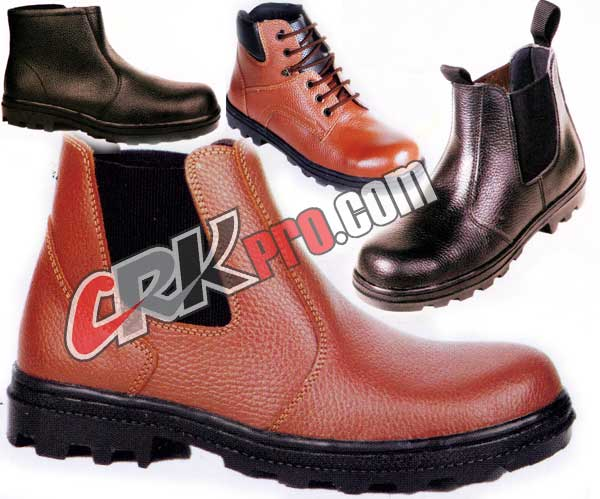 sepatu safety boots handmade shoes